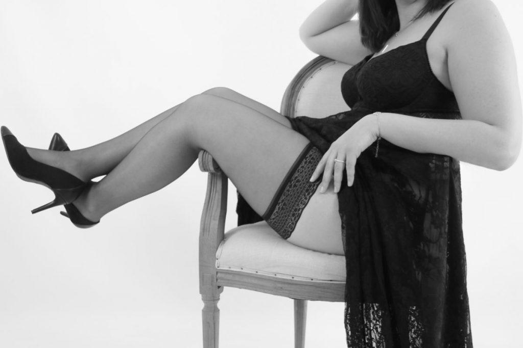 Photo boudoir intime