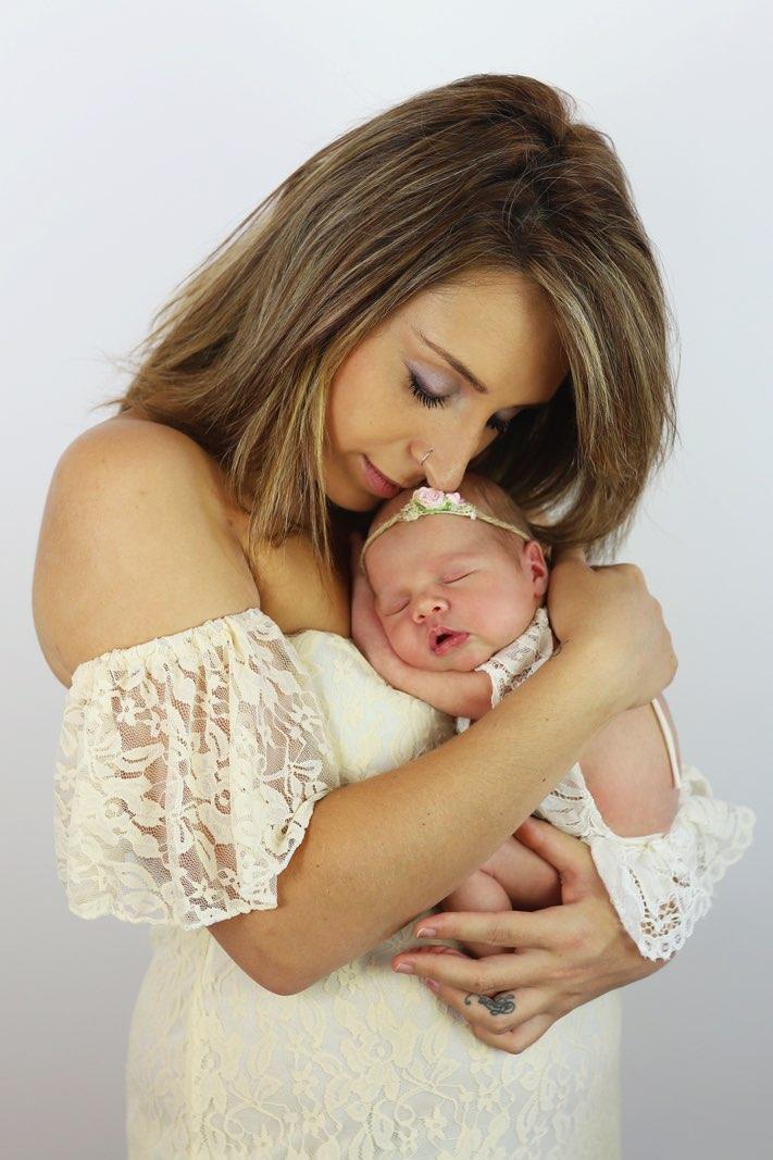 Photo d'une mère et de son bébé